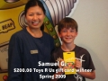 Samual - Spring 2009 winner