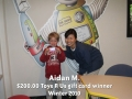Aidan M - Winter 2010 winner