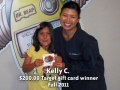 Kelly C - Fall 2011 winner