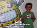 Ryan T- Summer 2012 winner