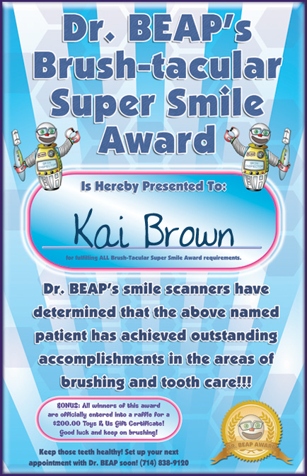 Super-smile-award
